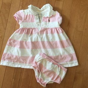 Ralph Lauren Size 18 Month Dress with Diaper Cover